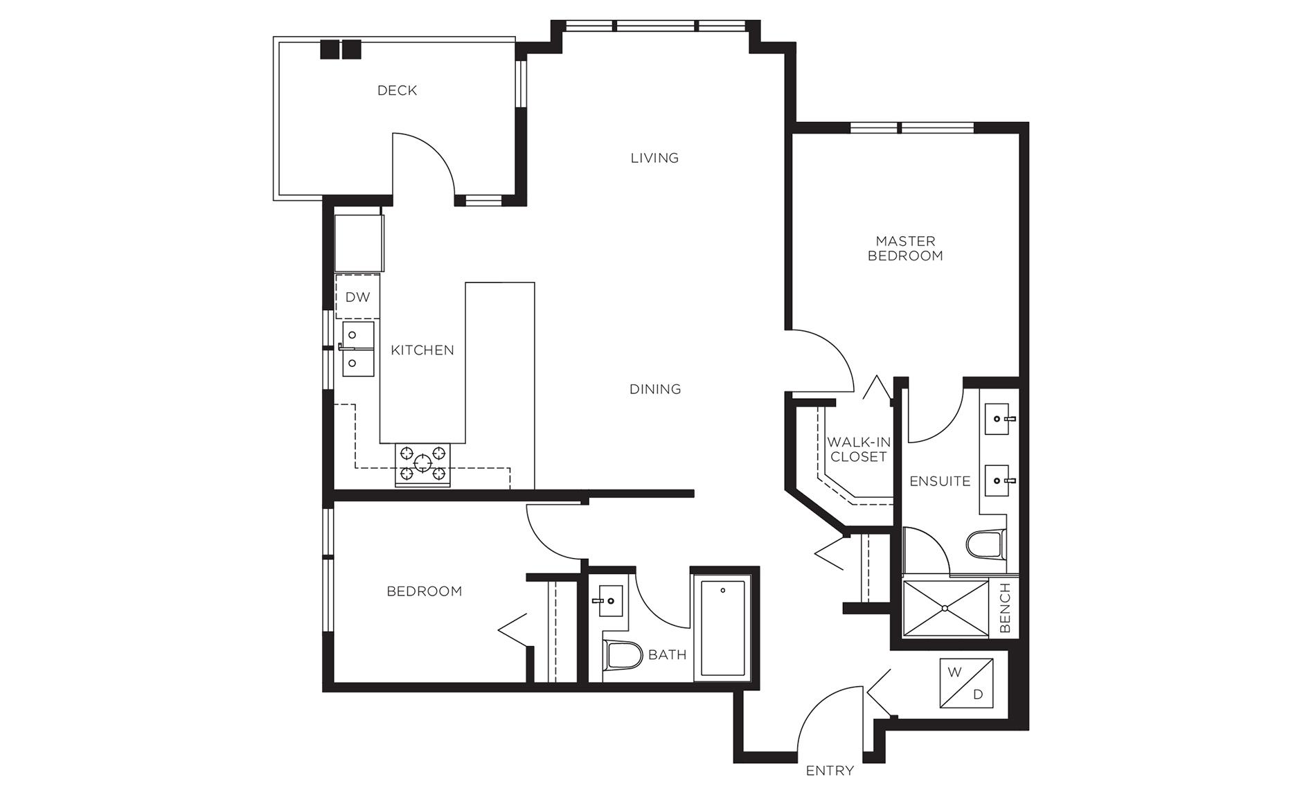Juniper north vancouver condo polygon for Juniper floor plan