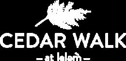 Cedar Walk logo